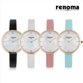 [레노마] 여성 가죽 시계 RE-525