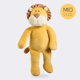 [miYim]미드 시리즈 유기농 애착인형 사자 원숭이 대형인형 56cm