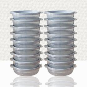 가쯔 심플쿡 냉동밥 전자렌지 용기(450ml) 16개