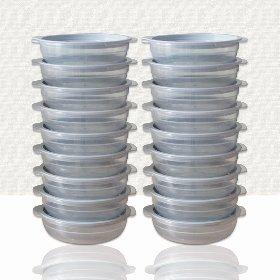 심플쿡 냉동밥 전자렌지 용기(400ml) 16개