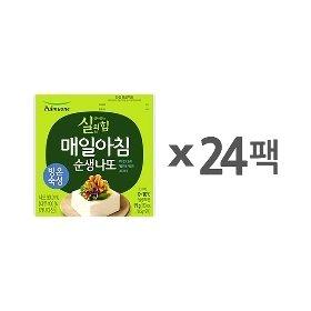 [풀무원] 매일아침 순생나또 (49.5gx24팩)