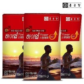 [종근당] 하이업 쏘팔메토 아연 30정*3박스/3개월분