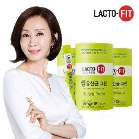 [종근당건강] 락토핏 생유산균 그린 60포*3통 /총180일분