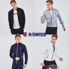 케이스위스(K-SWISS) 가을 트랙수트 2세트_남성