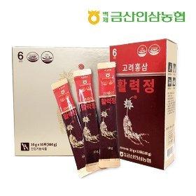 백제금산인삼농협 고려홍삼활력정 90포 + 무료체험 3포!