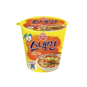 [오뚜기] 스낵면 미니컵 15입 (62g x 15개)