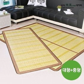 [중형+대형] 청풍 대나무자리 풀세트