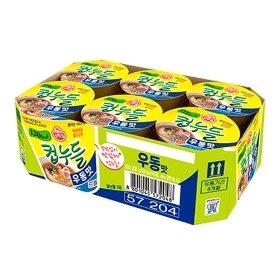 [오뚜기] 컵누들 우동맛 미니컵 38.1g x 6개
