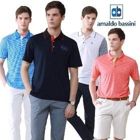 [쇼킹특가]아날도바시니 남성 여름티셔츠 4종세트