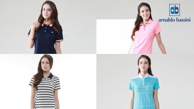 [쇼킹특가]아날도바시니 여성 여름티셔츠 4종세트