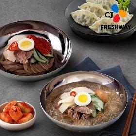 [CJ프레시웨이] 평양냉면(물냉면/비빔냉면)+만두추가구성