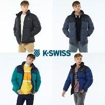케이스위스 K-SWISS  푸퍼 패딩점퍼_ 남성용
