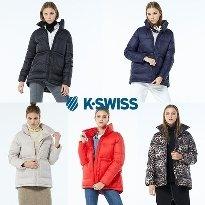 케이스위스 K-SWISS  푸퍼 패딩점퍼_ 여성용