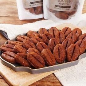 [만쥬데이]부드럽고 은은한 커피콩빵 9개입 x 4봉 (총 280g)