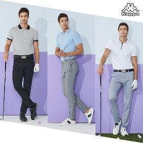 [초특가] 카파(Kappa) 썸머 골프팬츠 3종_남성용
