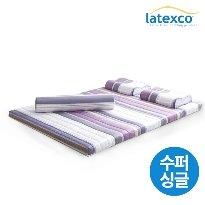 [직수입 정품2] 벨기에 LATEXCO 라텍스 토퍼매트 (수퍼싱글)