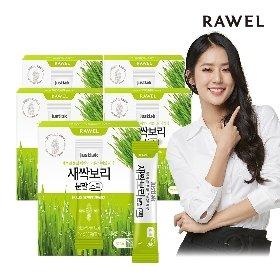 로엘 새싹보리 분말 스틱 5박스(2g x 30포)/5개월분
