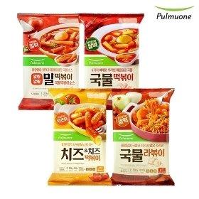 [풀무원]국물떡복이 2인분x5봉 모음