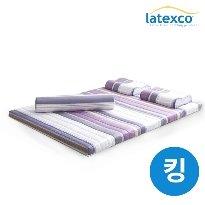 [직수입 정품2] 벨기에 LATEXCO 라텍스 토퍼매트 (킹)