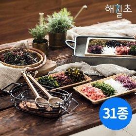 [W쇼핑 단독구성] 해칠초 해초샐러드 25봉 + 해초곤약국수 5봉 + 소스 1병