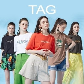 태그 아트웍 티셔츠 5종