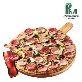 [피자마루]몬스터 콤비네이션 피자+콜라1.25L