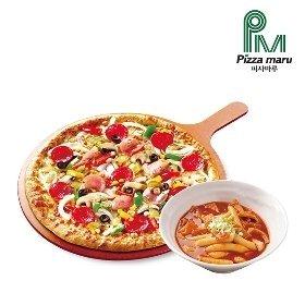 [피자마루]콤비네이션(L)+매콤떡볶이