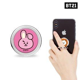 BT21 쿠키 휴대폰 페이스링