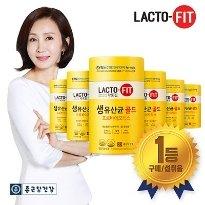 [종근당건강] 락토핏 생유산균 골드 6통 (총 300포)
