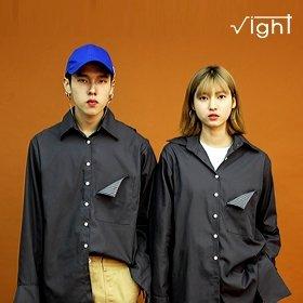 [라잇루트] 스트라이프 포인트 셔츠 by고수정