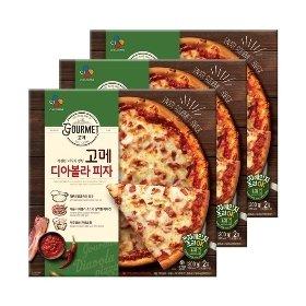 [CJ제일제당] 고메 디아볼라 피자 300g*3