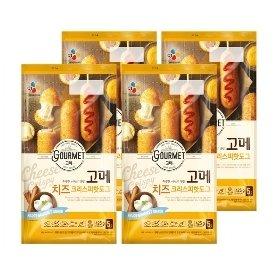 [CJ제일제당] 고메 치즈 핫도그 425g*4팩 (20개)