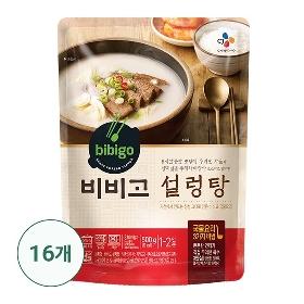 [CJ제일제당 본사배송] 비비고 설렁탕 16팩