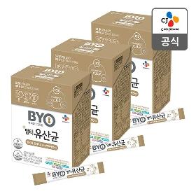 [CJ] BYO 멀티유산균 30포 * 3박스 (총 3개월분)