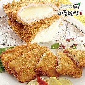 [이든밥상]촉촉한 생선까스(100gx2장)+치즈돈까스(160gx2장)
