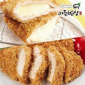 [이든밥상]닭가슴살 치킨까스(100gx2장)+치즈돈까스(160gx2장)