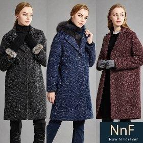 [NNF] 여성 모직 패딩 코트