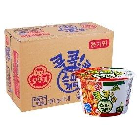 [오뚜기] 스파게티 컵 120gx12개(BOX)