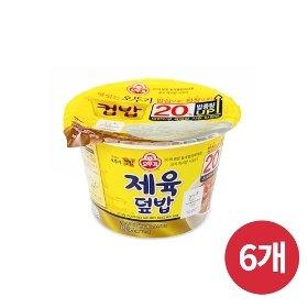 [오뚜기] 컵밥 제육덮밥 (280g) x 6