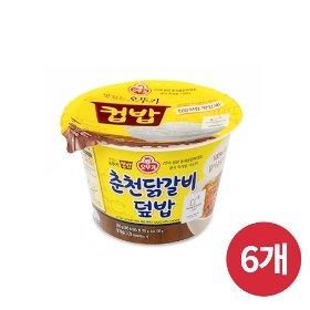 [오뚜기] 컵밥 춘천닭갈비덮밥 (280g) x 6