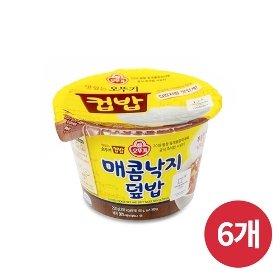 [오뚜기] 컵밥 매콤낙지덮밥 (250g) x 6
