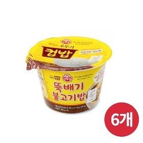 [오뚜기] 컵밥 뚝배기불고기밥 (290g) x 6