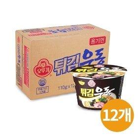 [오뚜기] 튀김우동 큰컵 110gx12개(BOX)