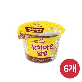 [오뚜기] 컵밥 참치마요덮밥 (217g) x 6