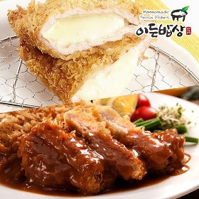 [이든밥상]등심돈까스 (160gx2장) + 치즈돈까스 (160gx2장)