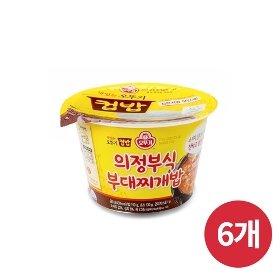 [오뚜기] 컵밥 의정부식 부대찌개밥 (281g) x 6