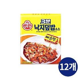 [오뚜기] 3분 낙지덮밥 소스 (150g) x 12