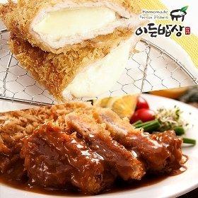 [이든밥상]안심돈까스 (120gx2장) + 치즈돈까스 (160gx2장)