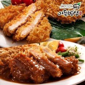 [이든밥상]등심돈까스 (160g*2장) + 안심돈까스 (120g*2장)