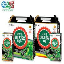 [담백한 A + 달콤한 B 총 96팩] 베지밀 검은콩 두유